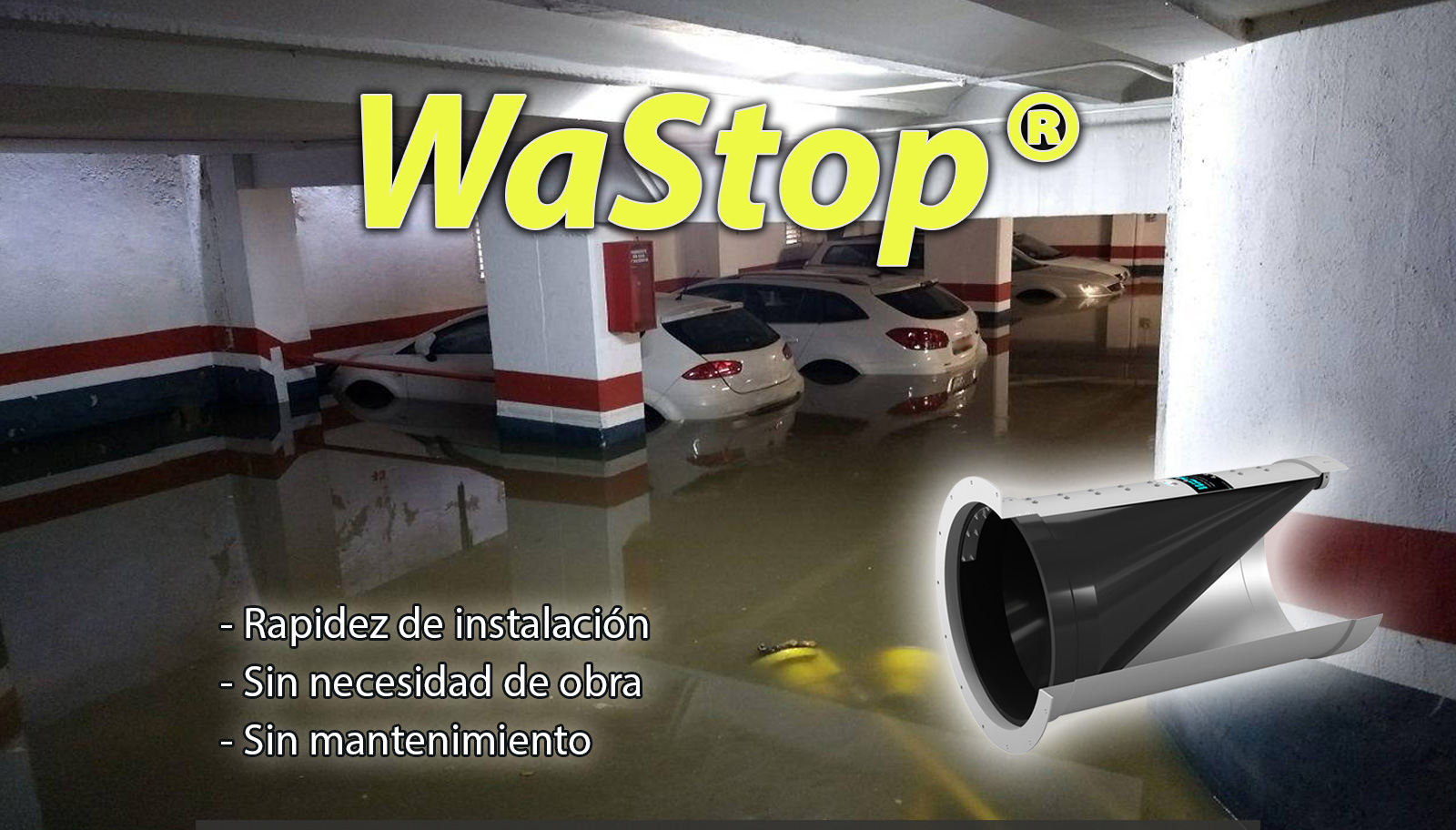 Protección eficaz contra inundaciones