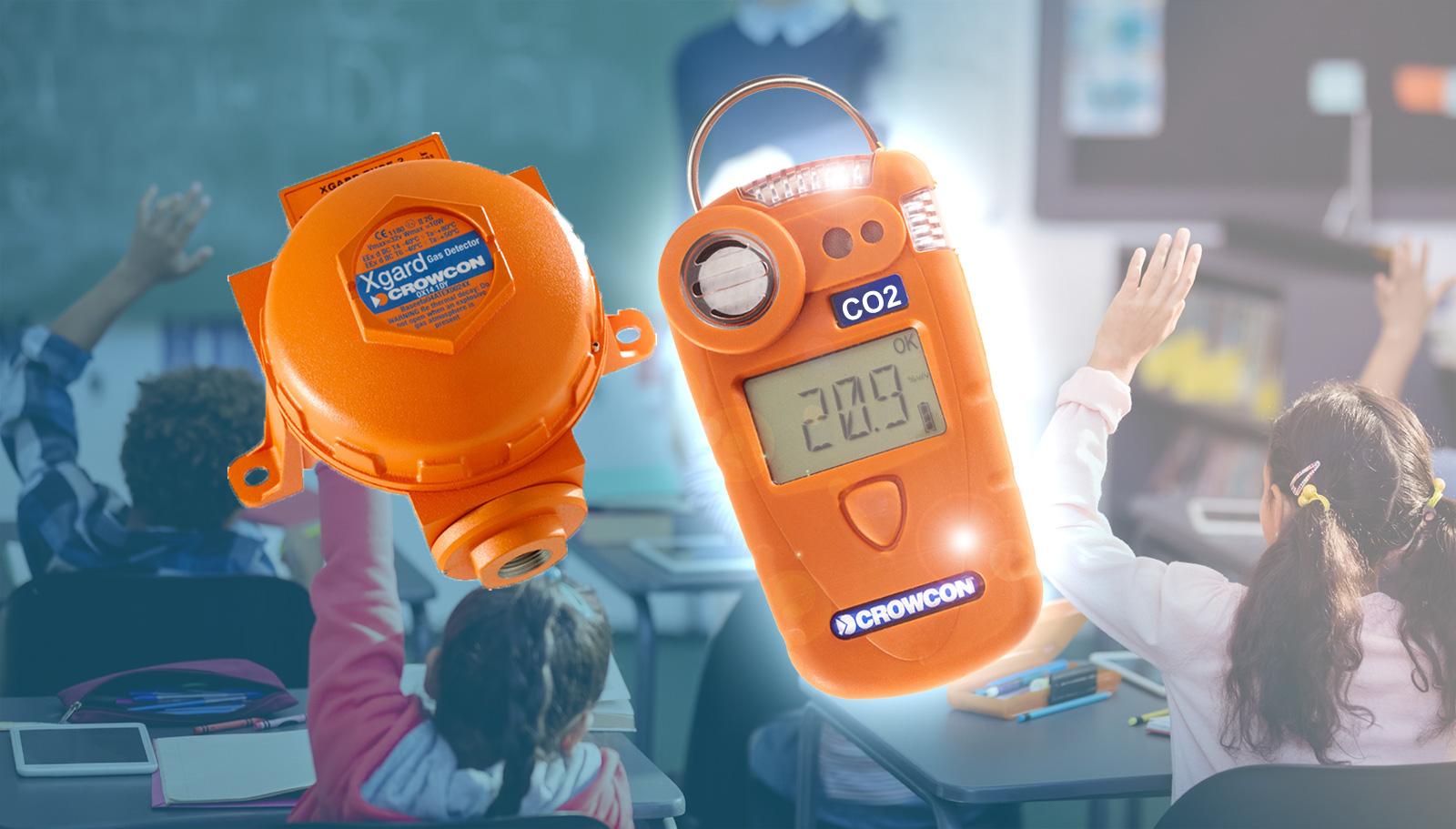Prevención frente al COVID19 mediante la medición de CO2