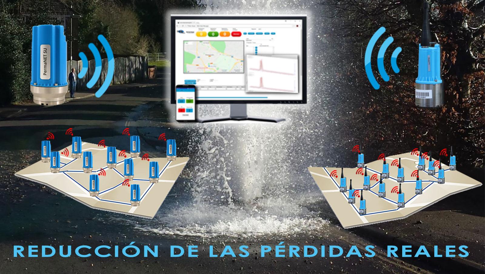 Tecnología para la transformación digital en la localización de fugas