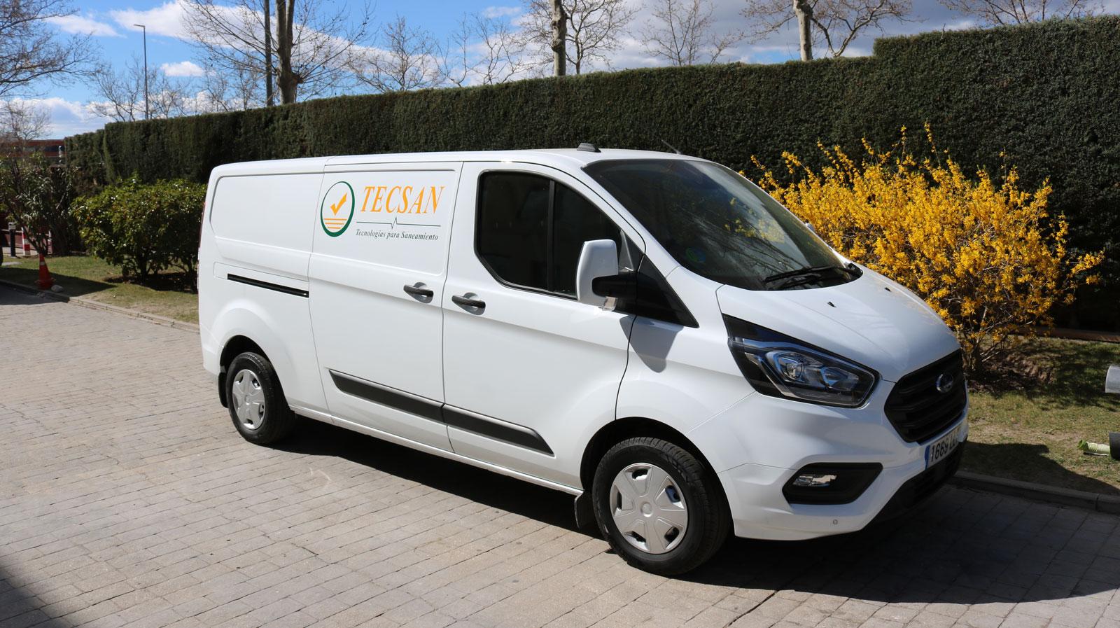 TECSAN incorpora un nuevo furgón para realizar demostraciones por todo el territorio nacional