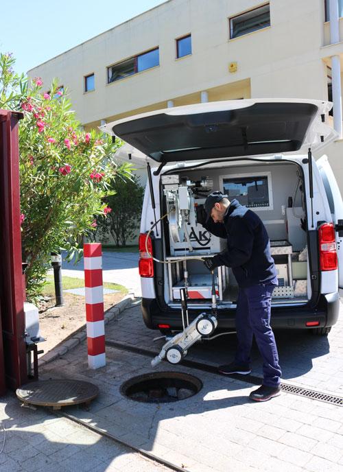 Sistemas de inspección de tuberías IBAK. TECSAN